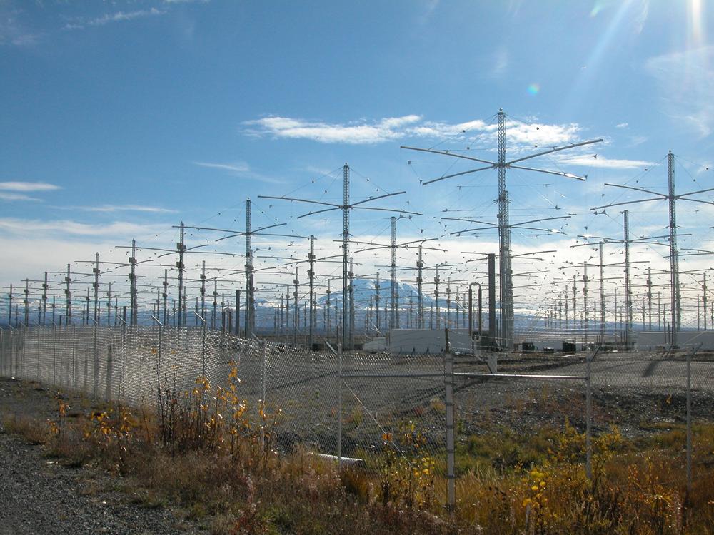 Matricea de antene HAARP sursa Wikipedia