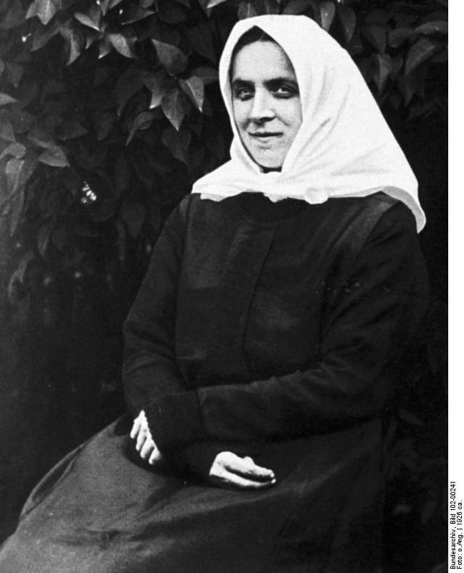 Teresa Neumann. Sursă foto: Wikipedia
