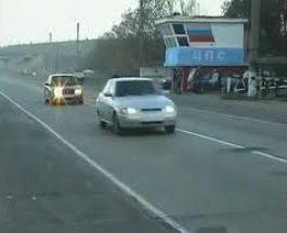 Cum opreşte poliţia maşinile în Rusia