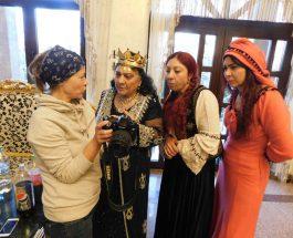 Regina Magiei Albe din România, Maria Câmpina, a filmat cu echipa de la TVC din Moscova