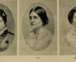 Surorile Fox şi comunicarea cu morţii