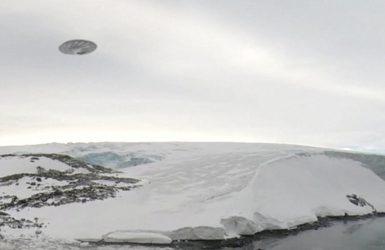OZN misterios filmat în martie 2016 în Antarctica
