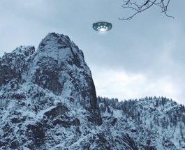 OZN filmat în martie 2016 în valea Romsdalen din Norvegia