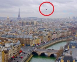 OZN de 1000 de metri deasupra Parisului
