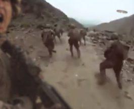 O patrulă americană din Afganistan surprinsă de un OZN straniu