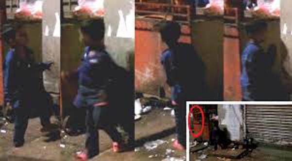 Un copil este atacat de o fantomă