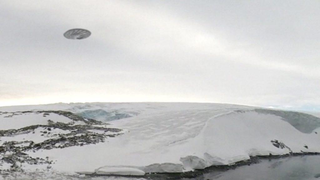 ozn Antarctica