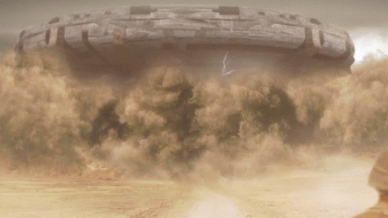 Puşcaşii marini au filmat un OZN imens în deşertul irakian